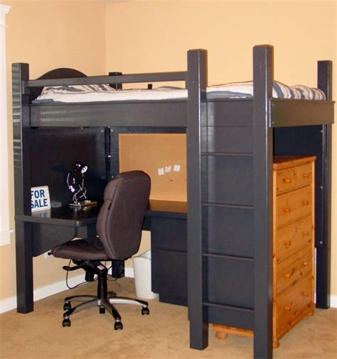 Loft Bunk Bed With Desk Underneath Beautiful Desk Bunk Underh Size Wood Loft Bed As As Desk Underh Home Furniture Plus