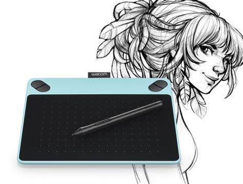 Wacom Intuos Draw Pen Small Tablet wacom intuos draw pen tablet small mint blue at