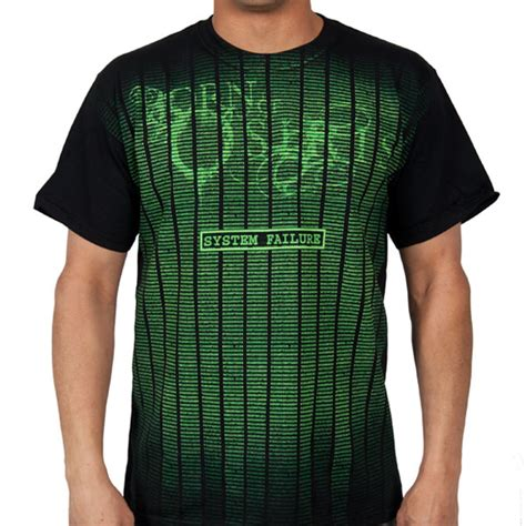 Hoodie Bron Of Osiris 4 born of osiris quot system failure quot t shirt indiemerchstore