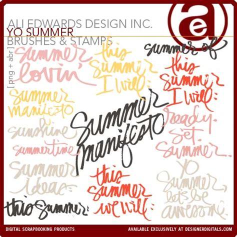 Creative Manifesto By Ali Edwards by Ali Edwards Design Inc Yo Summer Let S Be Awesome
