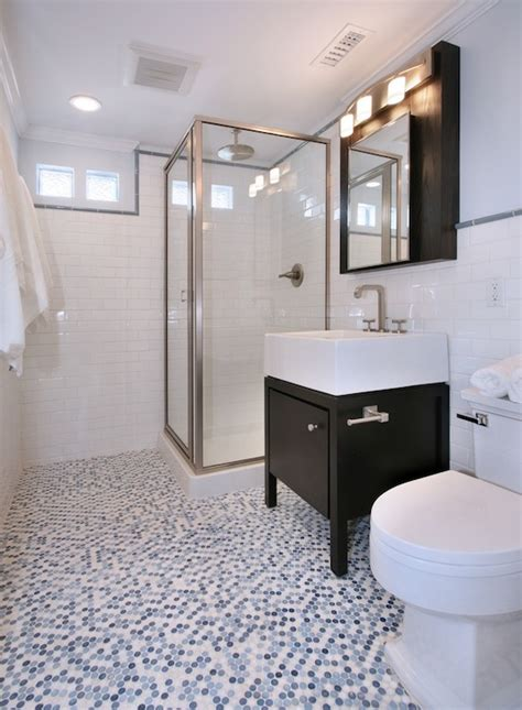penny tiles bathroom mosaic penny tile bathroom floor design ideas