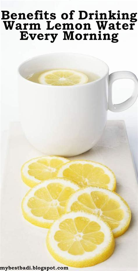 Lemon Water Detox Effects by Benefits Of Warm Lemon Water Every Morning Ifit