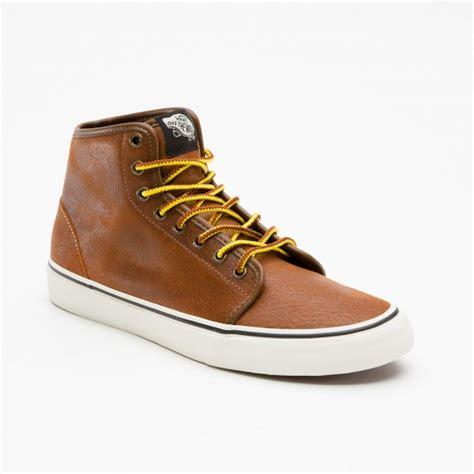vans hiker 106 hi contrast sole leather sneakers soletopia