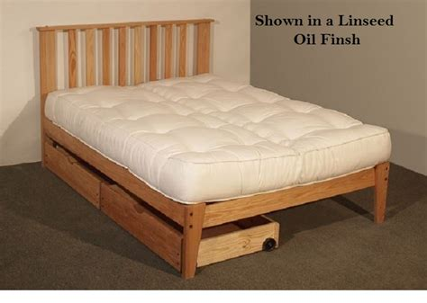 oak platform bed oak mission platform bed