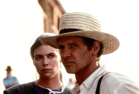 Harrison Ford Amish by Harrison Ford As Book In Witness 1985