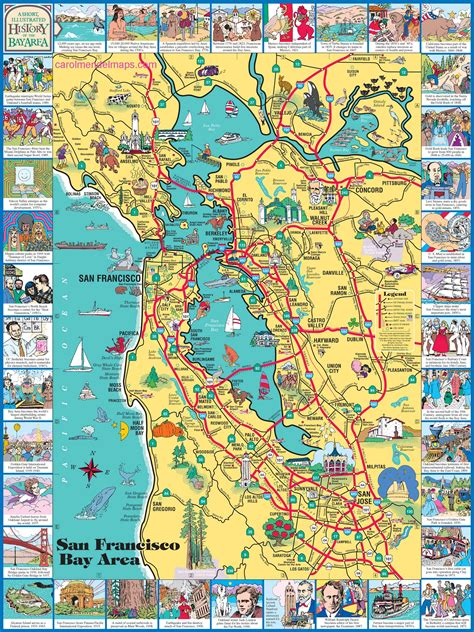 map of san francisco bay area san francisco bay map images