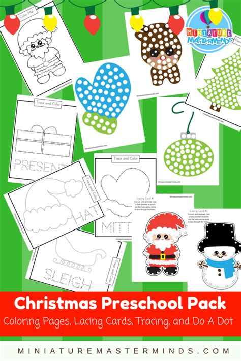 free printable christmas lacing cards free halloween preschool printable dot pictures