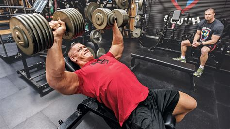 john cena bench john cena s 8 rules of the gym muscle fitness