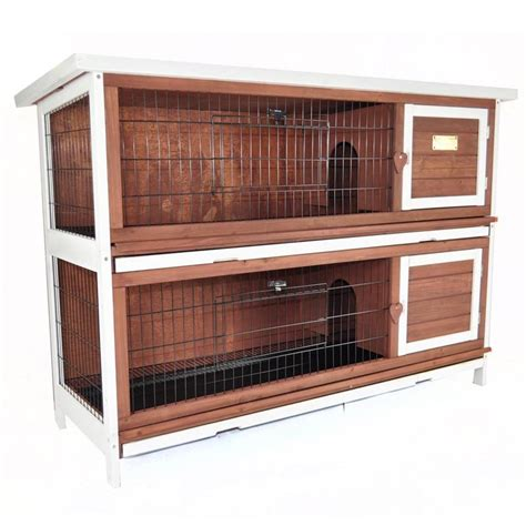 Bunny Hutch Advantek Duplex Rabbit Hutch Jet