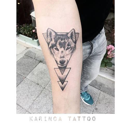17 migliori idee su geometric wolf tattoo su pinterest
