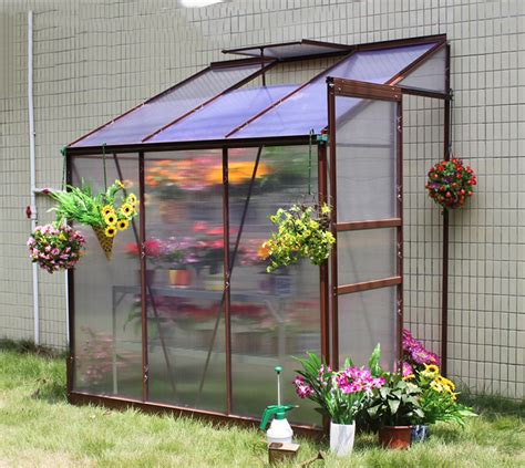 lean  greenhouse  polycarbonate sheet  aluminium
