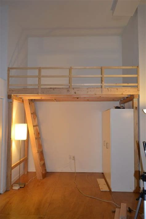 how to build a loft bed how to build a bunk bed ladder woodworking projects plans