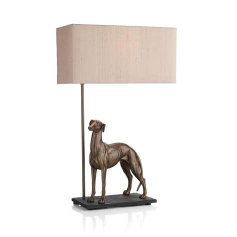 Animal L Shades Uk by Animal Table L With Greyhound Sculpture In Bronze