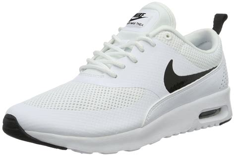 all white womens nike running shoes nike s air max thea white black running shoe 9 5 b