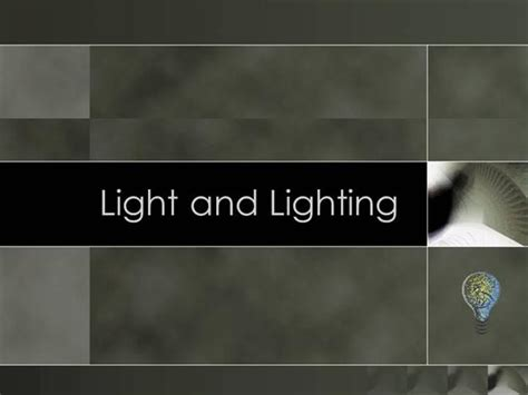 lighting design powerpoint interior design lighting authorstream