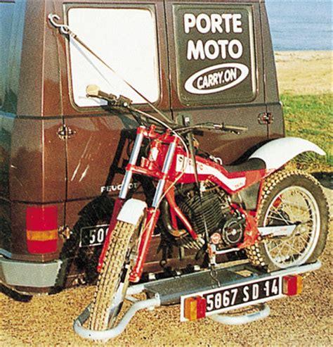 porte moto carry on 4x4 voiture et cing car porte