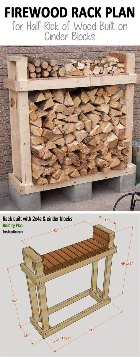 diy wooden firewood rack 15 best diy outdoor firewood rack ideas and desigs for 2017