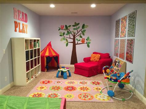 20 Stunning Basement Playroom Ideas House Design And Decor Play Room Ideas
