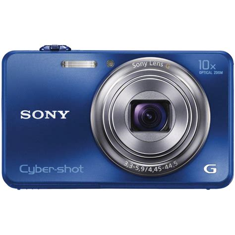Ms To Hour by Sony Cyber Shot Dsc Wx150 Digital Camera Blue Dscwx150 L B Amp H