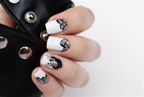 White Unique black and white nail ideas unique manicure designs