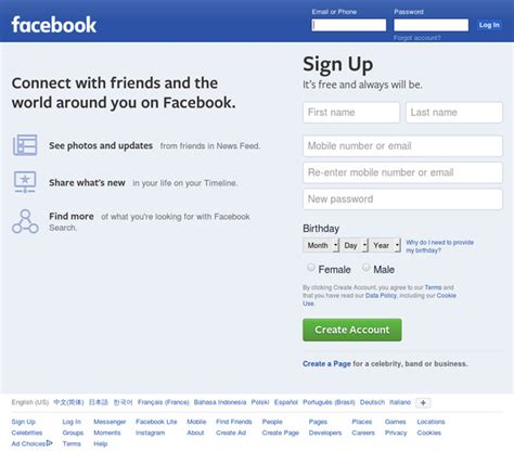 to connect with melanie sign up for facebook today facebook log in or sign up url save