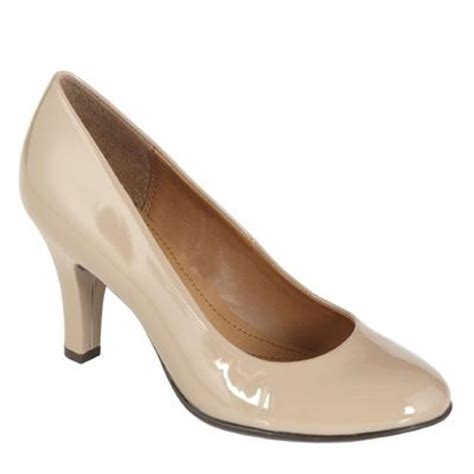 comfortable shoes for women over 50 jaclyn smith women s comfort nude dress pump tori