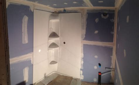 bathroom drywall code rick s basement bathroom in south keys fresh reno
