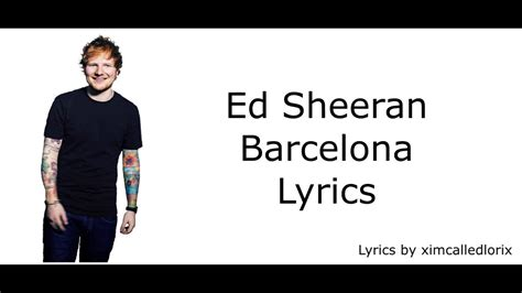 ed sheeran songs download download ed sheeran barcelona official audio mp3 planetlagu
