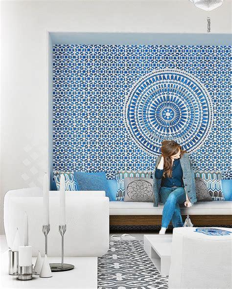 moroccan interior design ideas d 233 coration d int 233 rieur en blanc et bleu pour toutes les pi 232 ces