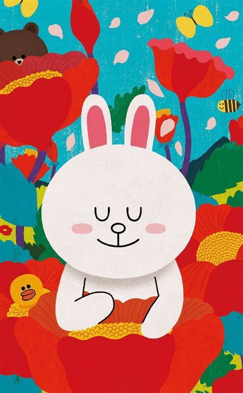 Roundhand Gratis Bb Line Friend 506 best line friends images on cony brown