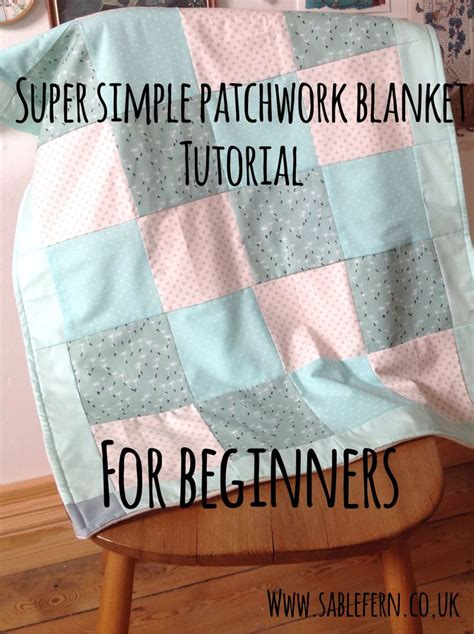 Patchwork Projects For Beginners - 25 best ideas about baby patchwork quilt on