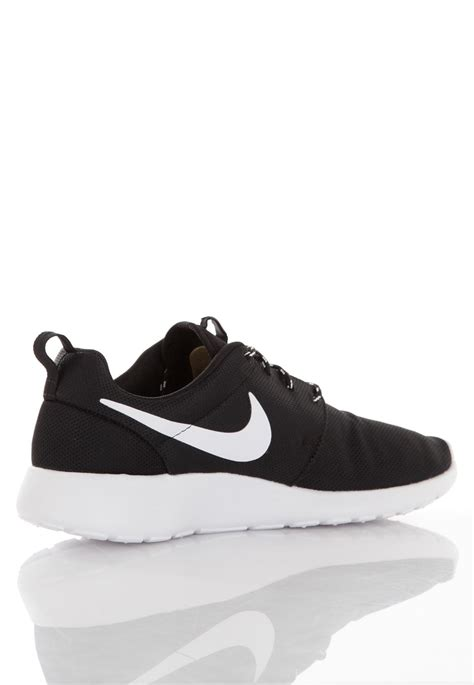 nike black and white roshe shoes for 44 98
