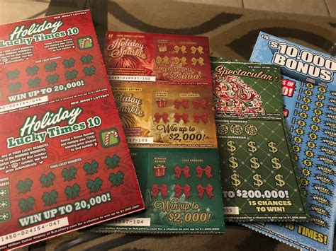New Jersey Lottery Instant Win Games - fun easy holiday gifts using nj lottery instant win