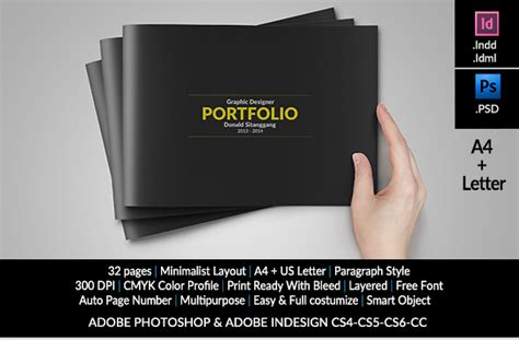 graphic design portfolio layout free download graphic design portfolio template brochure templates on