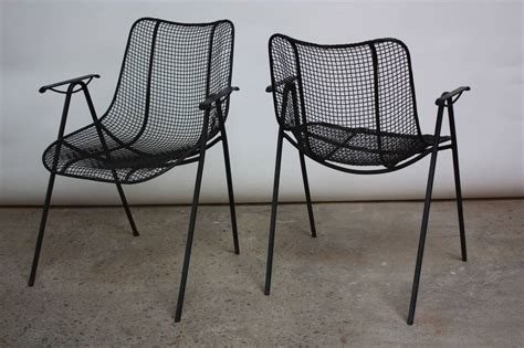 Woodard Patio Chairs 1950s Woodard Patio Table And Four Chairs At 1stdibs