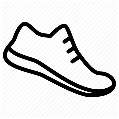 running shoe drawing related image drawing ideas running icons