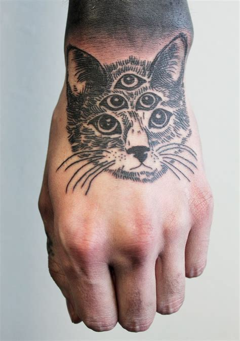 cat finger tattoo cat tattoos every cat design placement and style