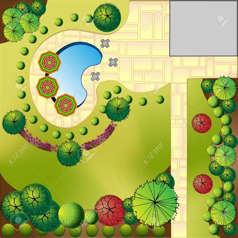 landscaped garden clipart clipground