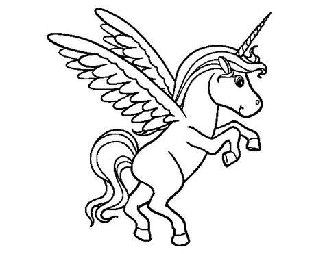 imagenes kawaii para colorear de unicornios dibujo de unicornio joven para colorear dibujos net