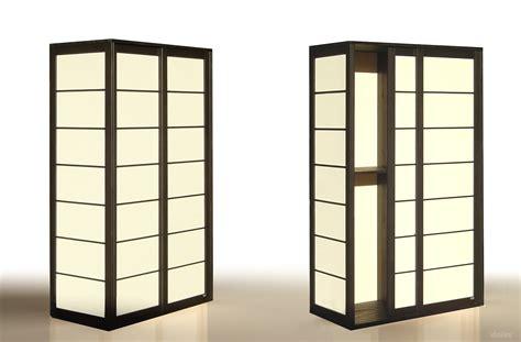armoire japonaise shoji armoire by cinius design fabio fenili