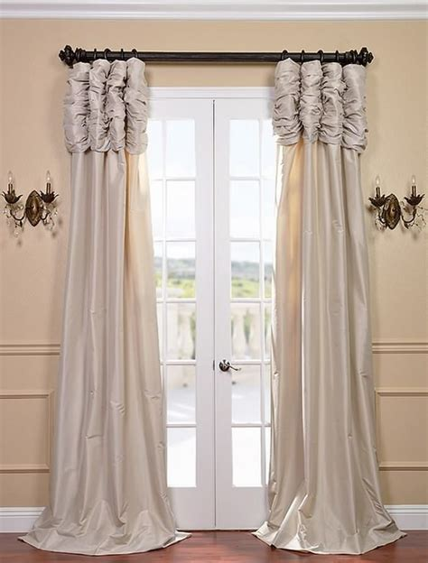 ruched curtain 25 best ideas about beige curtains on pinterest family