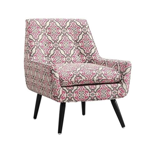 Pink Accent Chair Accent Chair In Pink And Gray 368360eagl01u