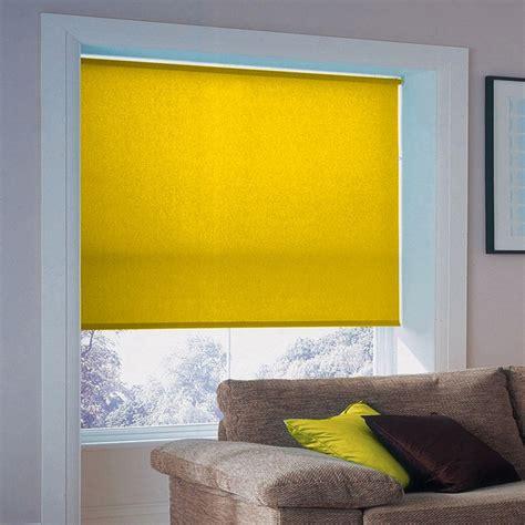 tende a rullo lavabili tenda a rullo su misura e lavabile colore giallo sole