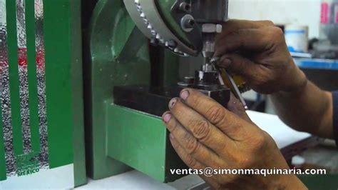 ojilladora maquina de ojillar mecanica instrucciones de
