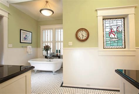 arts and crafts bathroom woodlands lifestyles homes magazine an arts and crafts