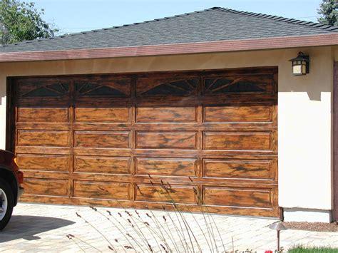wooden garage door cost
