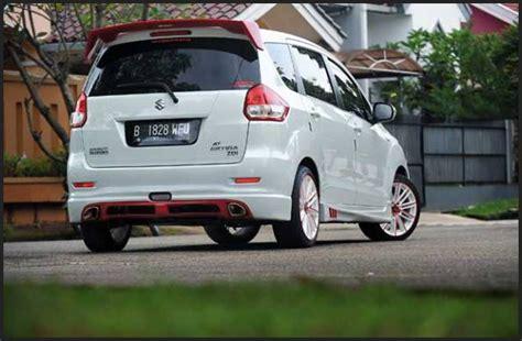 Sayap Suzuki Ertiga kumpulan modifikasi suzuki ertiga putih elegan