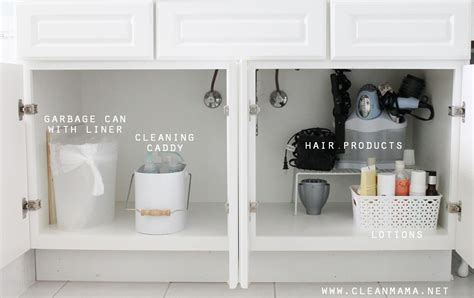 organize under the bathroom sink 4 tips to organize under the bathroom sink clean mama