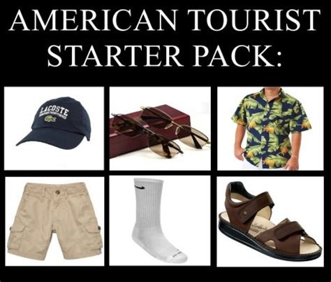 typical american tourist
