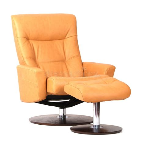 Yellow Leather Recliner Yellow Luxury Leather Recliner Royalty Free Stock Image Image 8279176